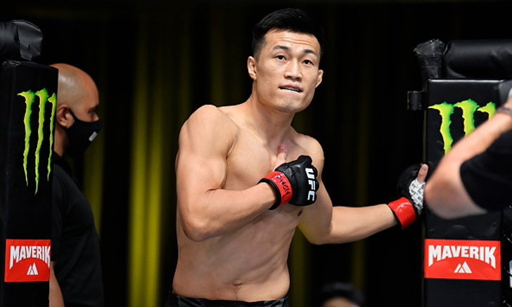 ชาน ซอง จุง ยอดนักสู้มวยกรงชาวเกาหลีใต้