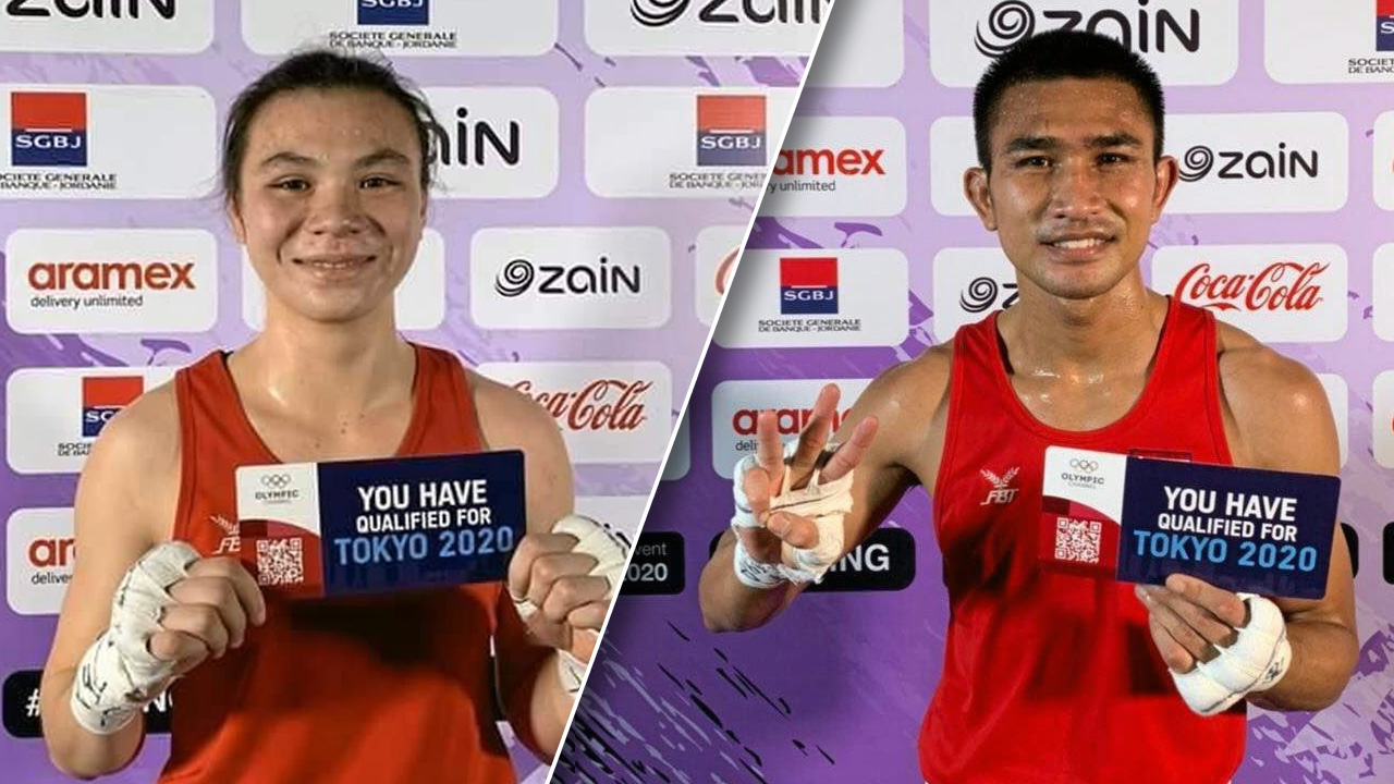 """ผลจับสลากสายมวยโอลิมปิก 4 นักชกไทยไม่ได้บาย """"ฉัตร์ชัยเดชา-ใบสน"""""""